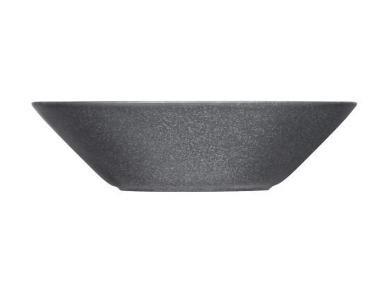 Lautanen syvä harmaa Ø 21 cm