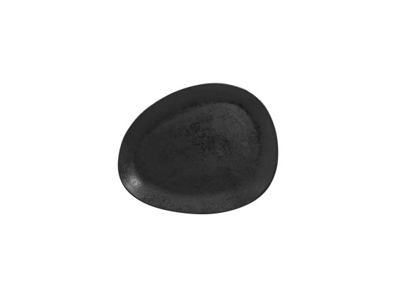 Lautanen musta 27x21,5 cm