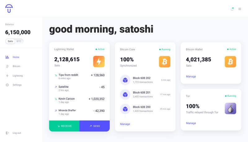 Corre o teu próprio Nó Bitcoin e Lightning Network