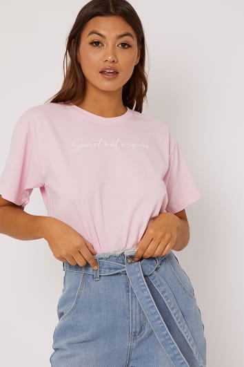 PINK SWEET BUT PSYCHO TEE