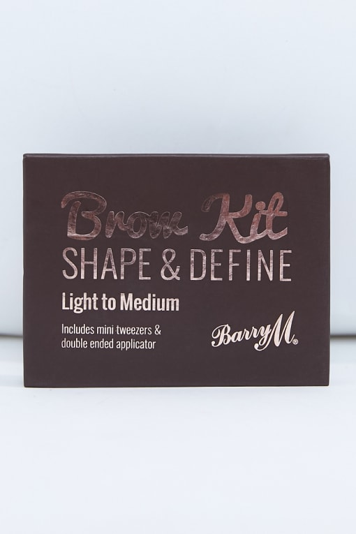 BARRY M LIGHT/MEDIUM BROW KIT