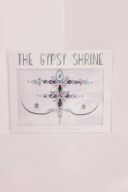 GYPSY SHRINE SKULL CHEST PIECE