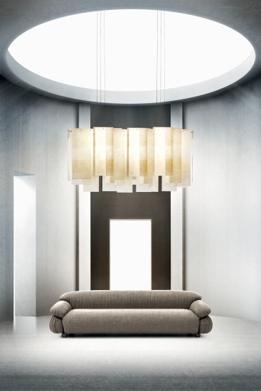 Alexandra Long Pendant: Pendant lamp available in different