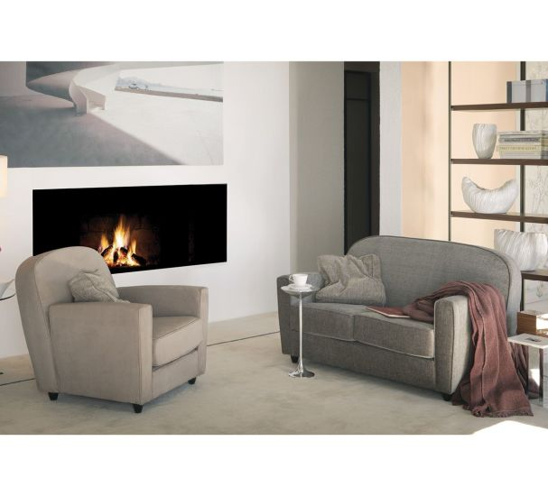 Vigilius: 2 seater sofa available in different finishings