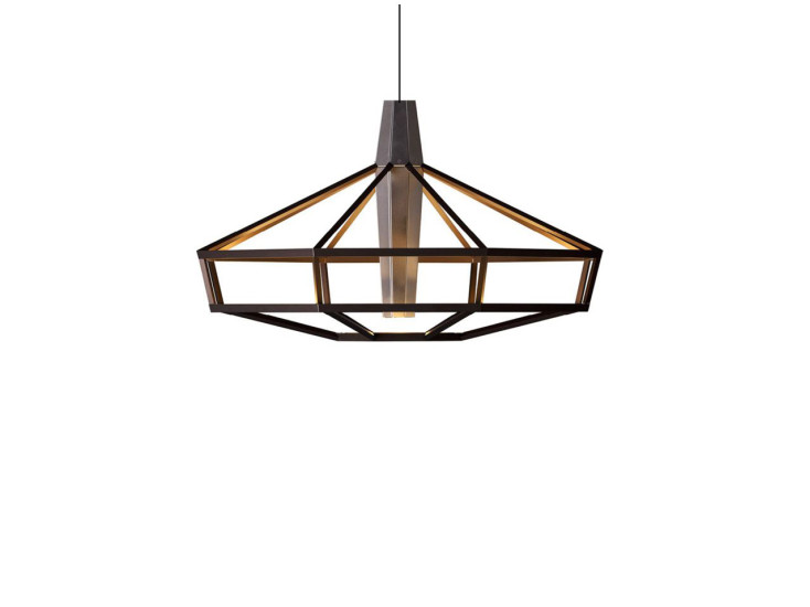 Lampsi: Pendant lamp available in different finshings