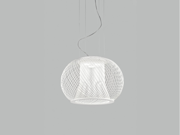 Impossible C: Suspended lamp Ø45 cm available in different versions