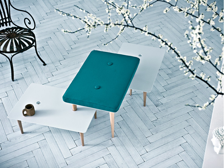 A Song for You: Coffee table L 75 cm D 50 cm H 40 cm ideal to create compositions