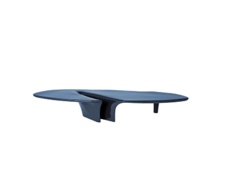 Waterfall: Coffee table L 216 cm W 60 cm H 34 cm available in different colours