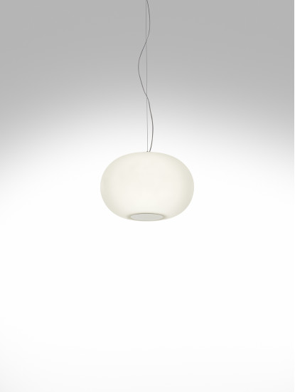 Babà Pendant: Suspension lamp in different finishings