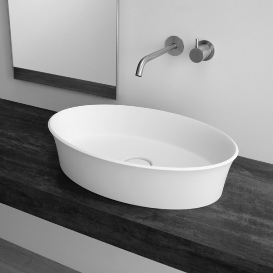 Brio: Countertop washbasin 58 cm x 38 cm