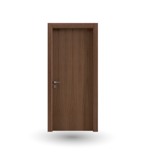 Imago 11: Hinged wooden door in different finishings