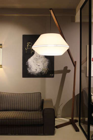 Oops FL: Floor lamp in different finishings