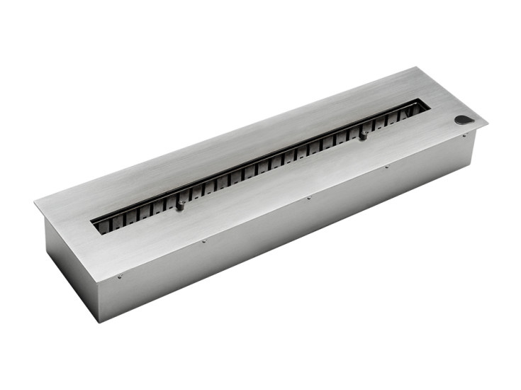 Linear 60: Linear recessed burner 600 mm x 165 mm x 85 mm