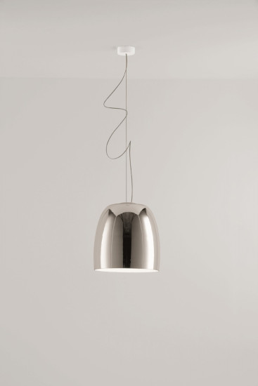 Notte S5: Pendant lamp Ø360 mm available in different finishings
