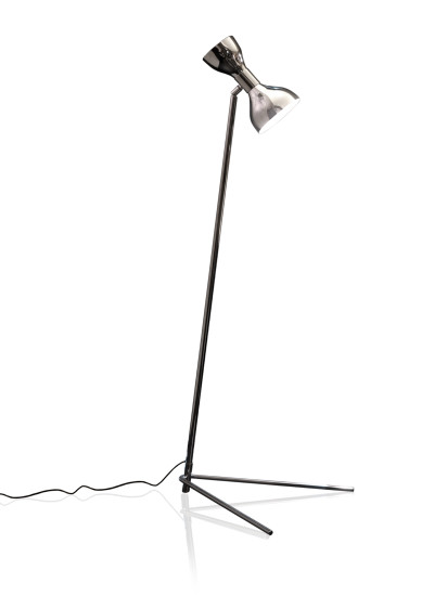Tata FL: Floor lamp in different finishings