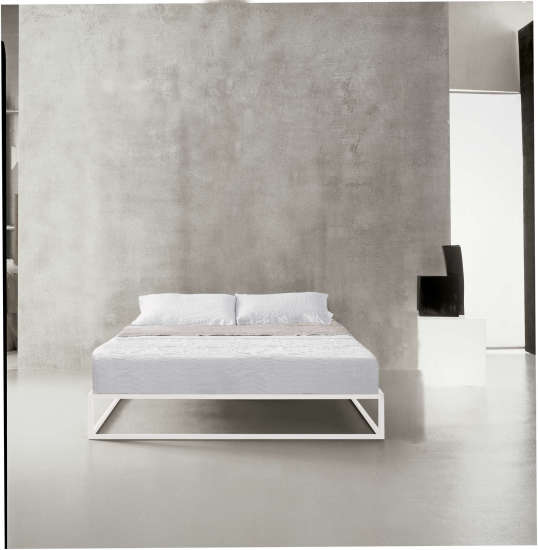 Asha Basic: Bed available in different sizes and colours