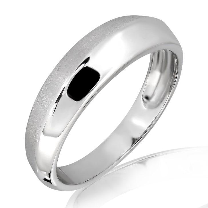 แหวนเพชรหมั้นชาย ทอง 18K