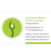 Meike elsasser visitenkarte vorderseitevxz21t