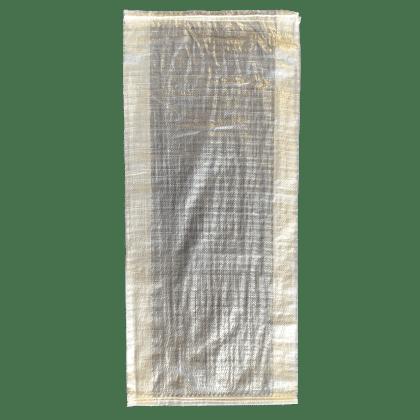 Woven Polypropylene - Transparent Feed Bag - (37 CM +10 CM) x 80 CM
