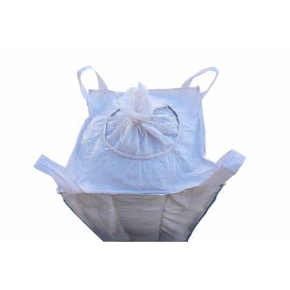 1.0 Tonne - Spout Top Spout Bottom - Bulk Bag - 90 x 90 x 100 cm