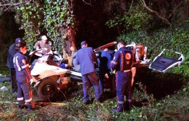 Jovem morre em acidente na SC-355, em Fraiburgo