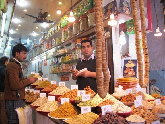 A Taste of Rajasthan in Photos: Spice Market in Delhi