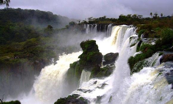 The thundering falls