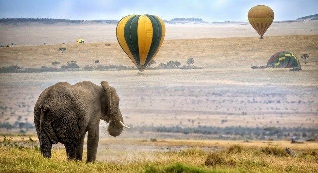 Ballonfahrt in der Masai Mara