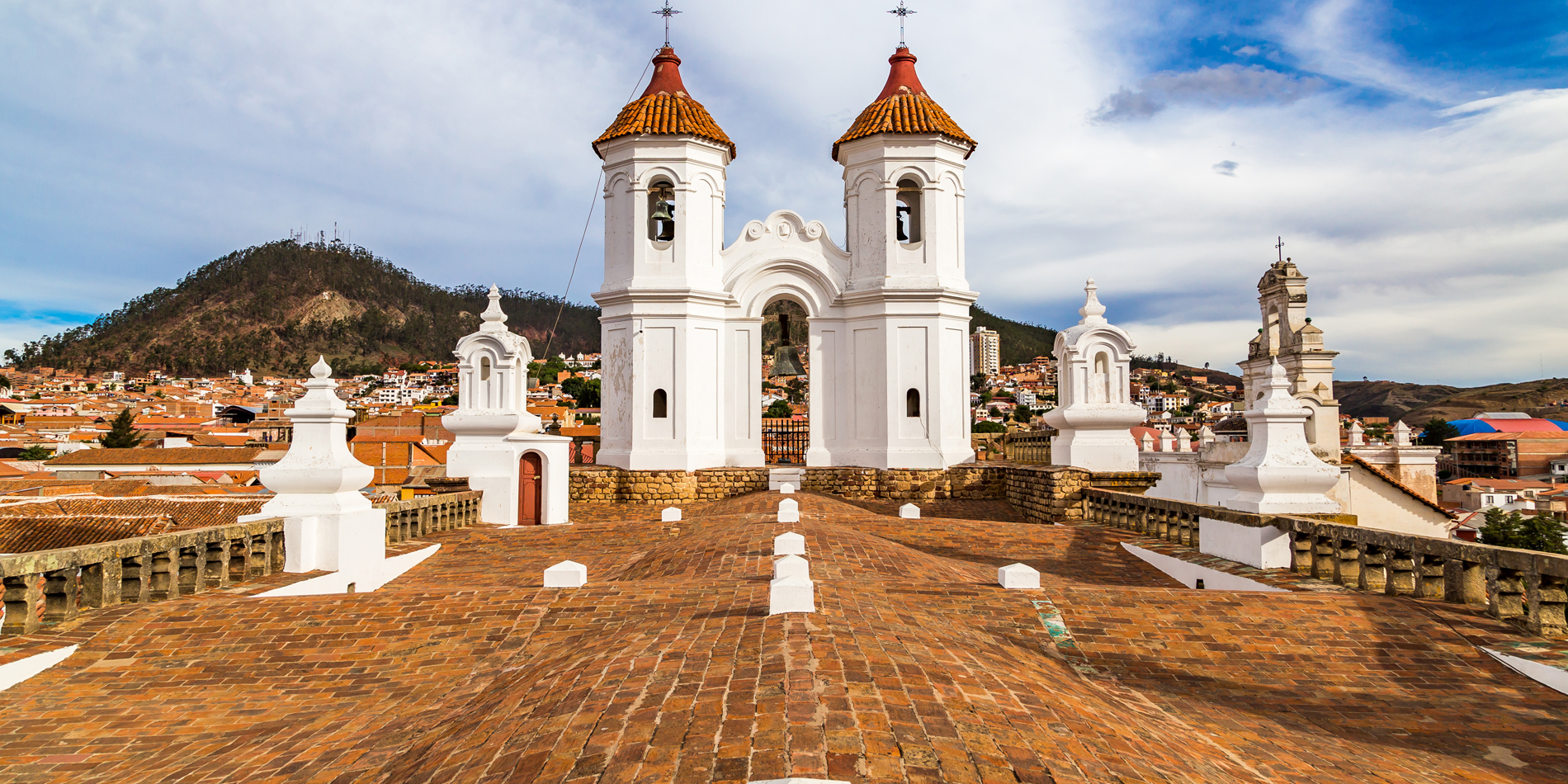 Sucre, where Bolivia's Declaration of Independence was signed.