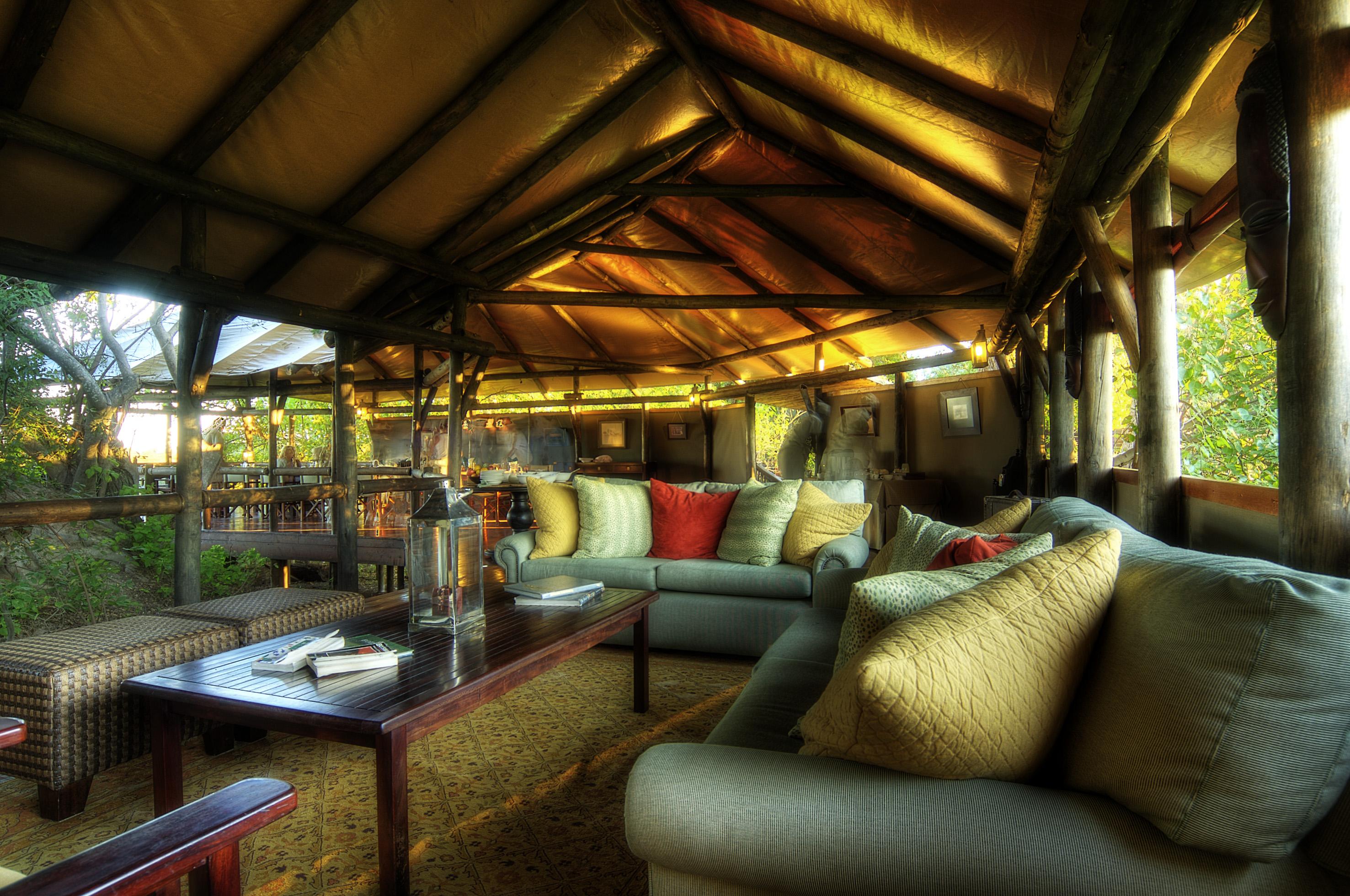 Lodge of Kanana Camp - Okavango Delta, Bostwana