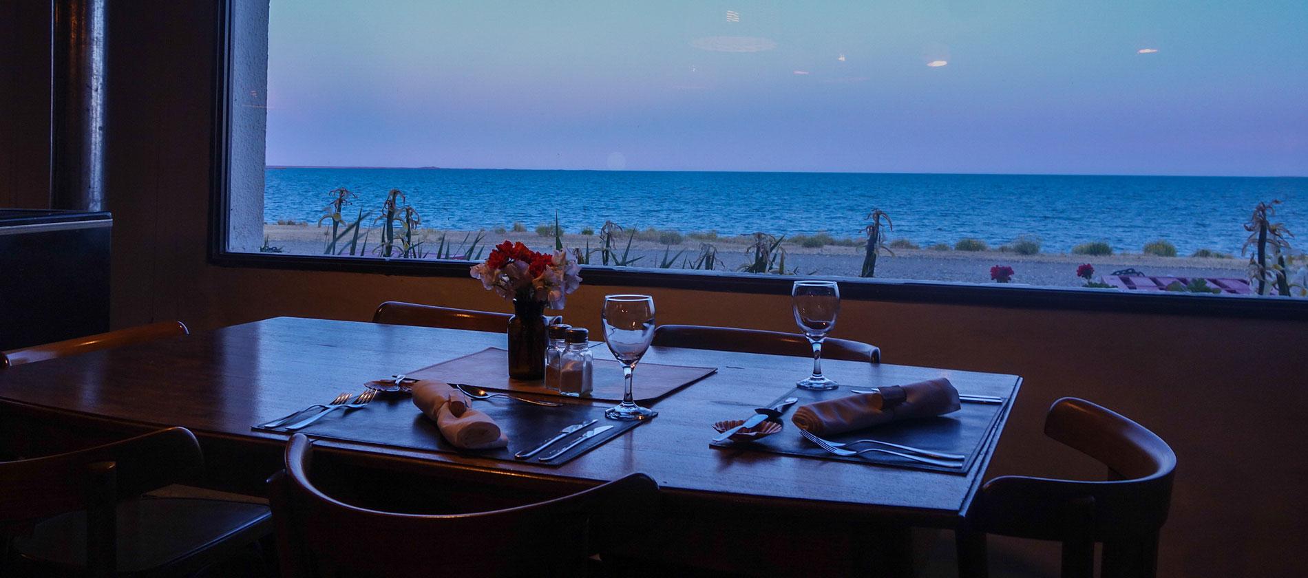 Romantic dinne at Bustamente - Patagonia, Argentina