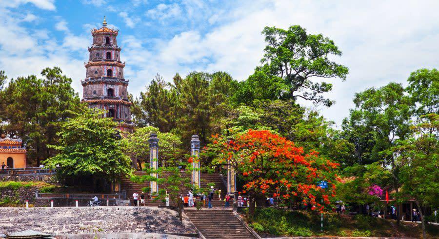 Kaiserstadt Hue in Vietnam