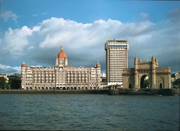 Außenansicht von Taj Mahal Hotel in Mumbai