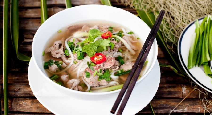 Things to do in Vietnam - Sample Vietnamese Pho in Hanoi