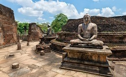 Sri Lanka Travel Tips - Ancient Buddha statue of temple ruins in ancient city of Polonnaruwa, Sri Lanka, Asia, shutterstock_147899873