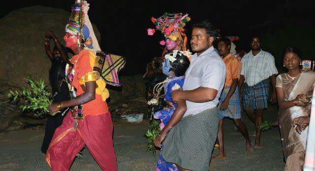 Zu Gast bei den Anhängern Angalammans in Tamil Nadu