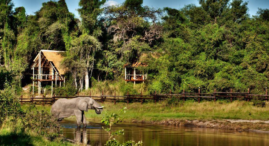 Savute Safari Lodge Exterior View Savuti & Linyanti Botswana Safari Tour