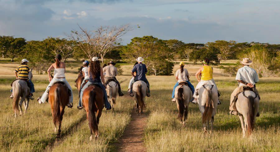 Visual perspective of a Llanero (Colombian Cowboy), South America