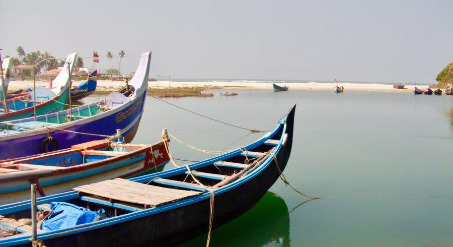 Boats in Kerala
