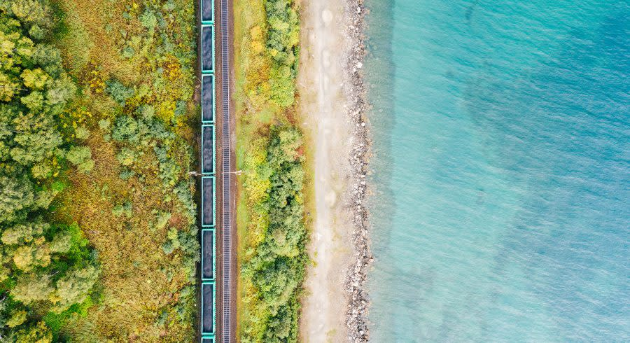 Lake Baikal Shore Trans Siberia
