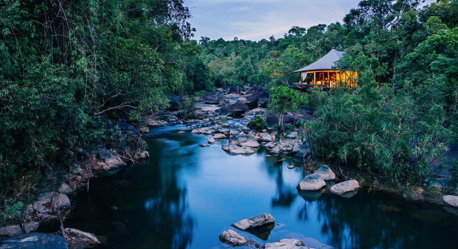 Shinta Mani Wild, Cambodia - best luxury vacation spots in the world