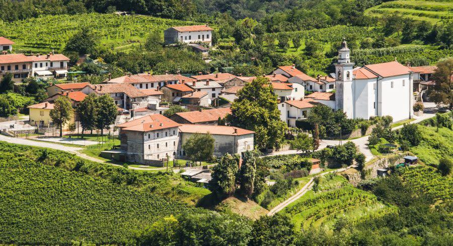 Villages at Goriska Brda - top 10 relaxing holiday destinations in europe