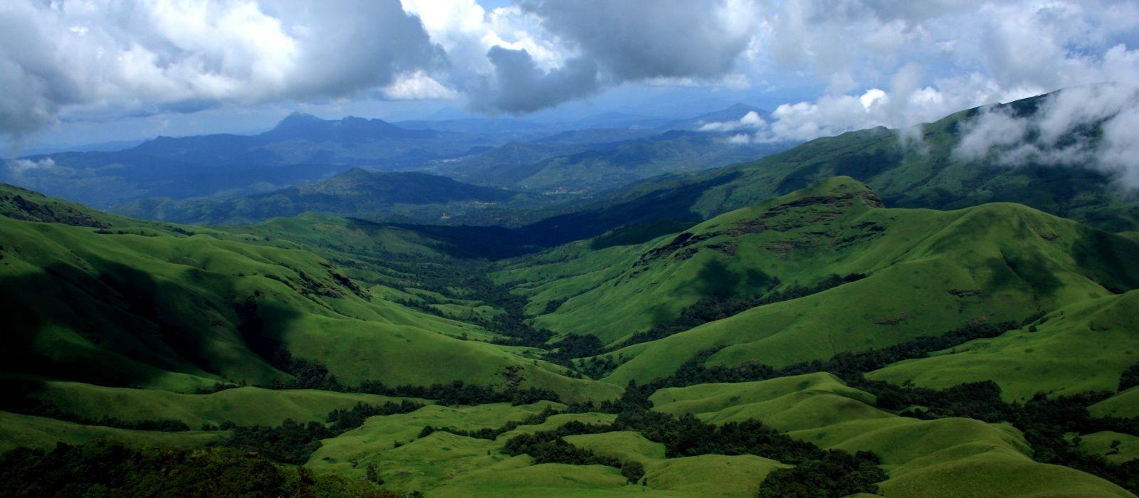 Reiseziel Chikmagalur Südindien