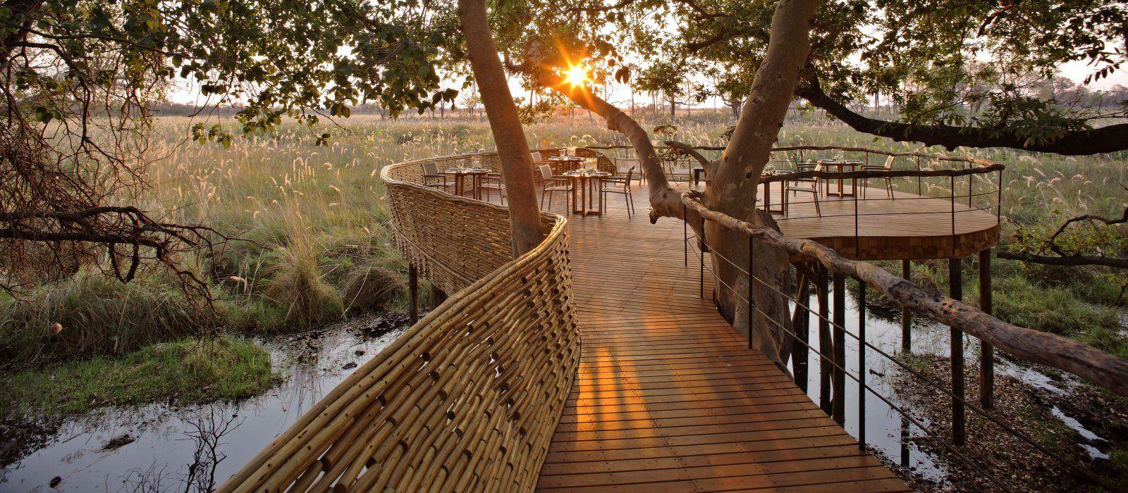 Hotel Sandibe Safari Lodge Botswana