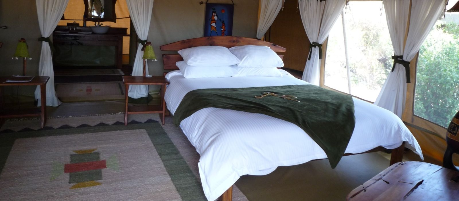 Elephant Bedroom Camp Hotel In Kenya