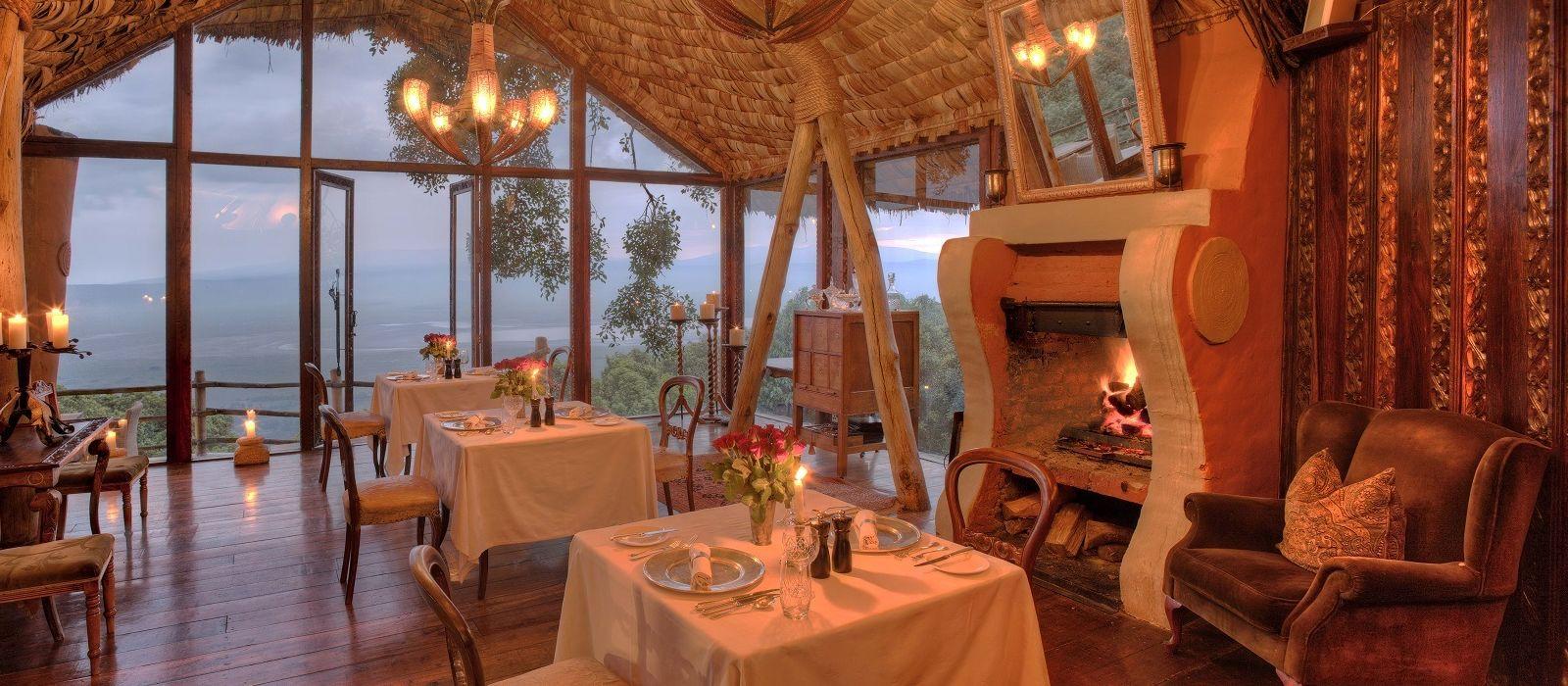 Hotel Ngorongoro Crater Lodge Tanzania