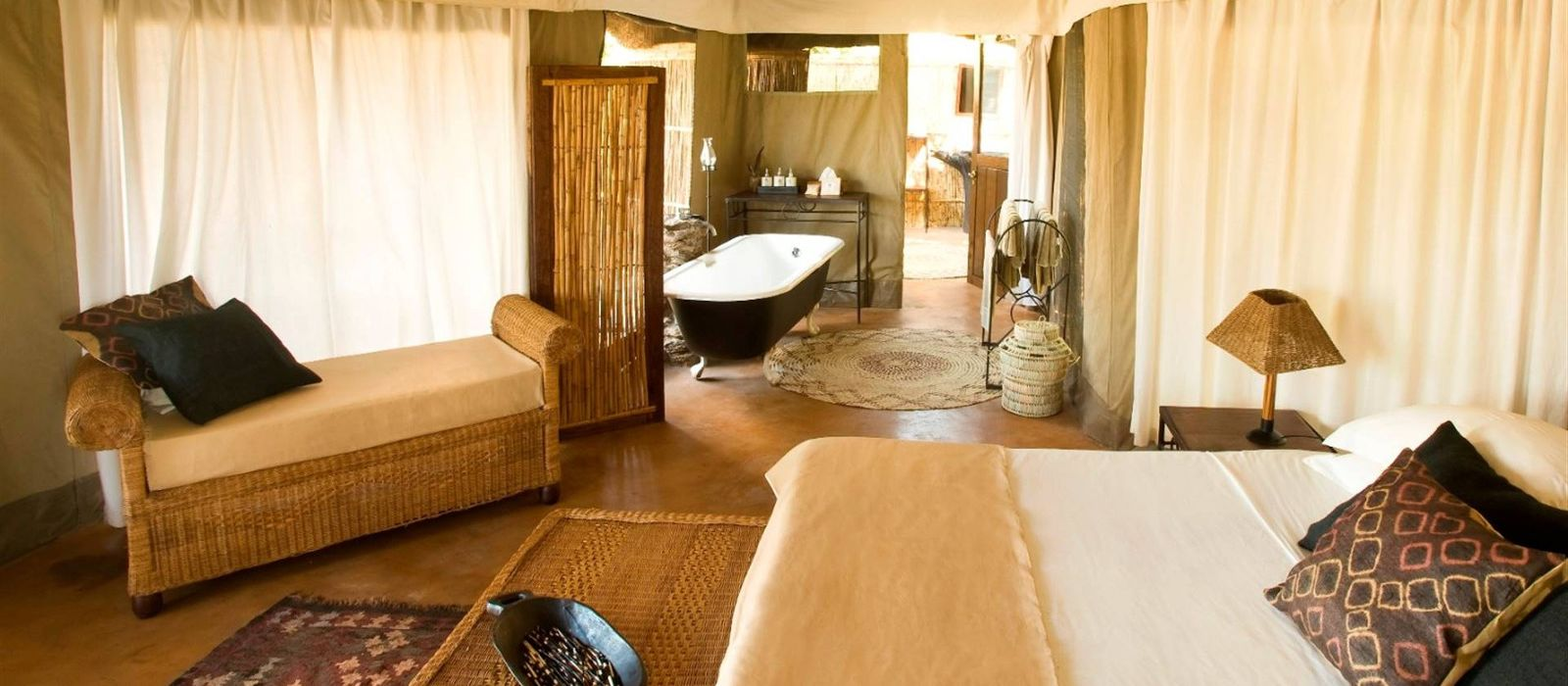 Hotel Mchenja Camp Sambia