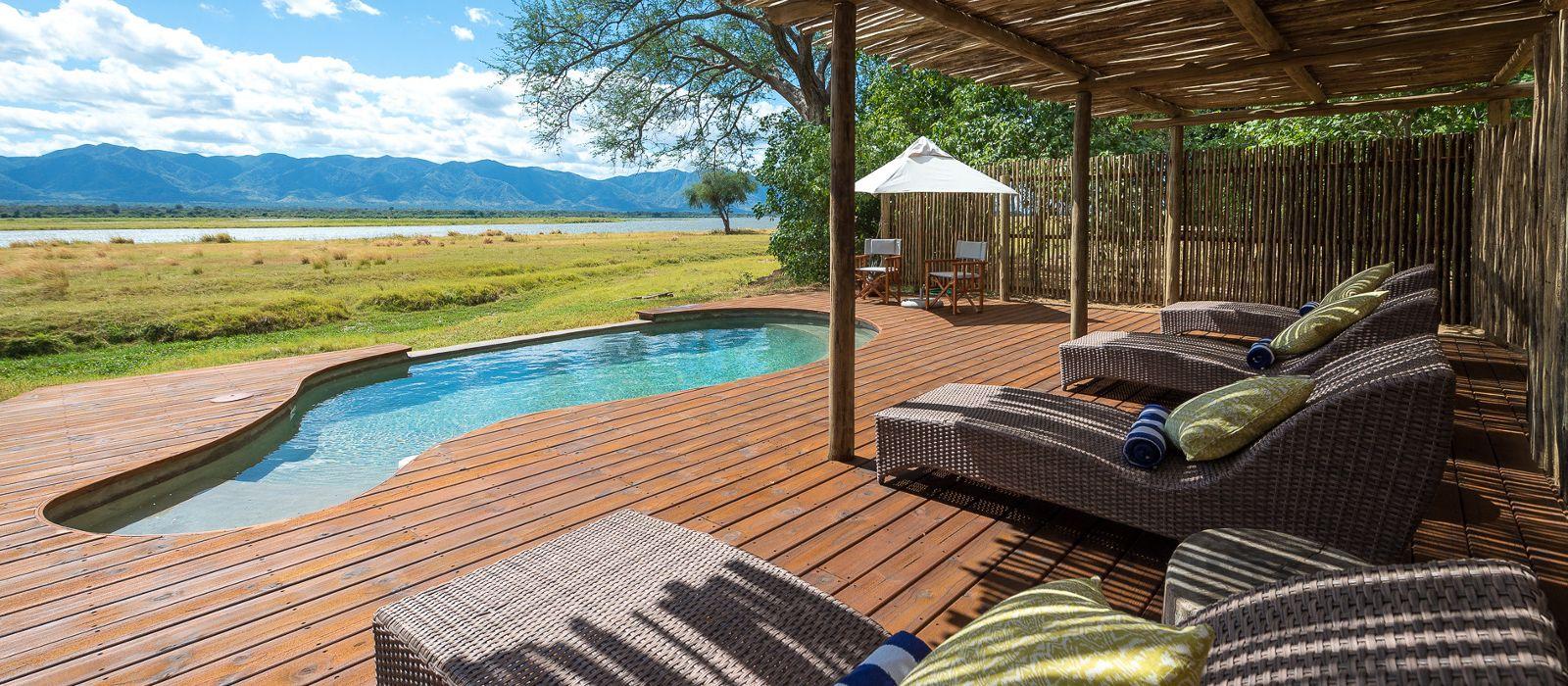 Hotel Ruckomechi Camp Simbabwe