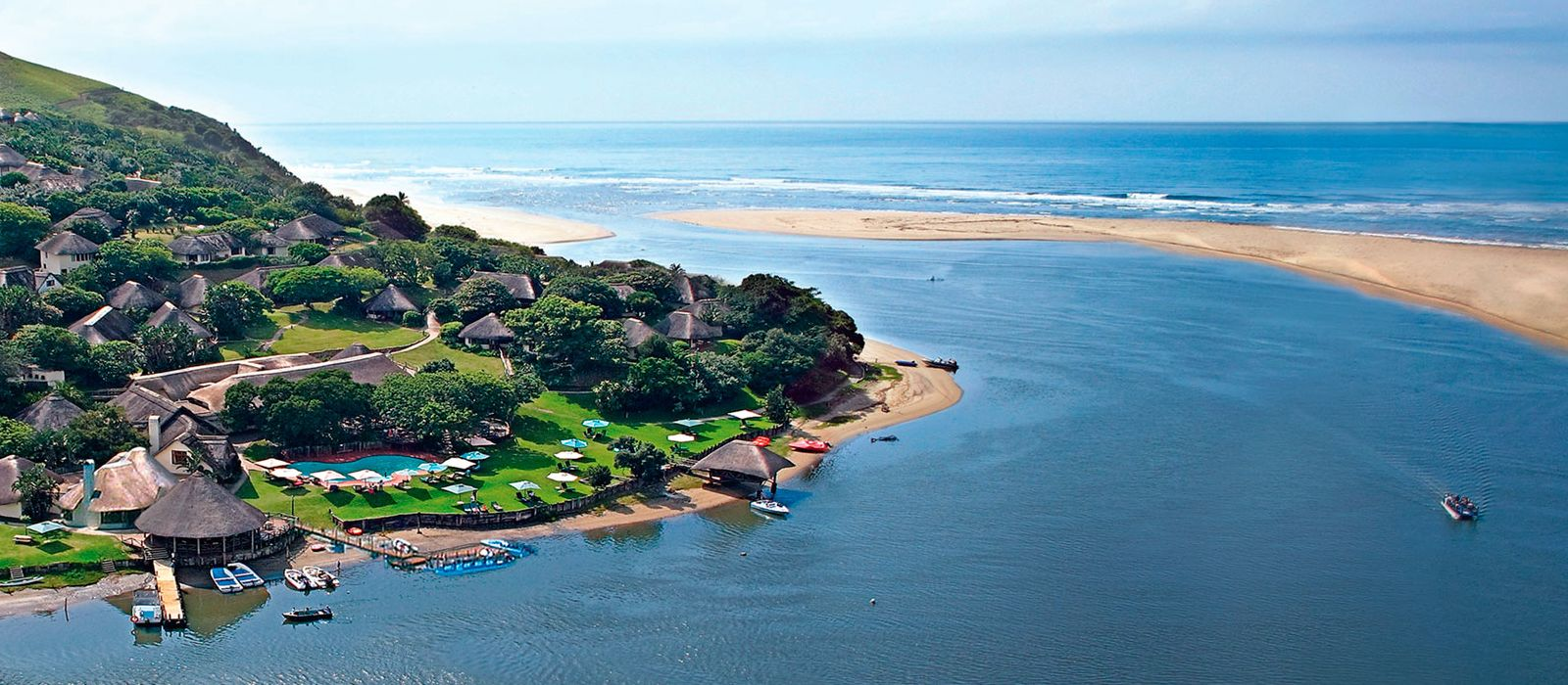 Hotel Umngazi River Bungalows South Africa