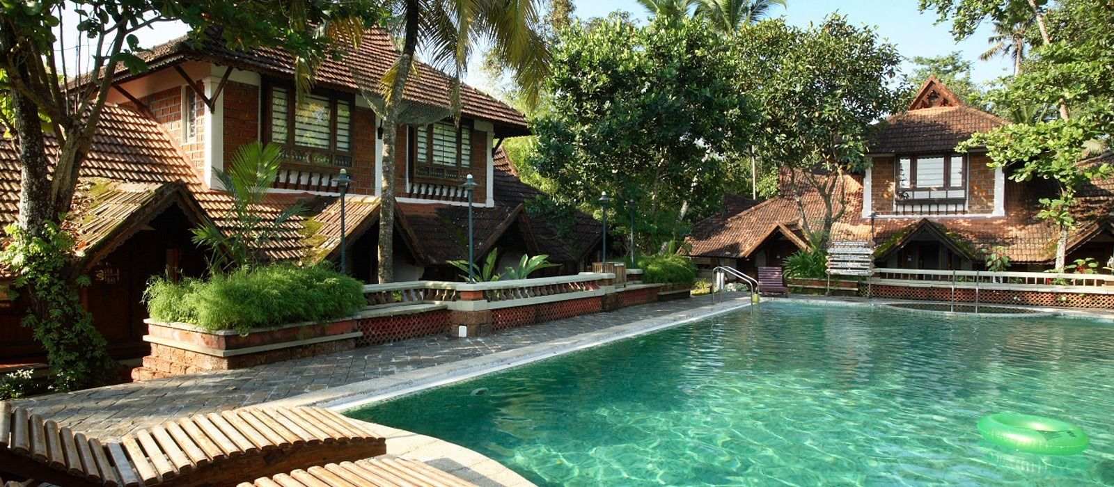 Hotel Punnamada Backwater Resort Südindien